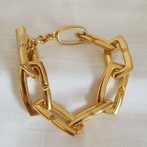 Vince Camuto Chunky Gold Link Bracelet